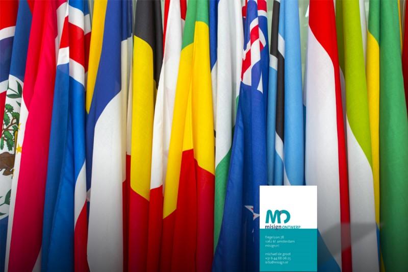 meertalige website door misign ontwerp Amsterdam